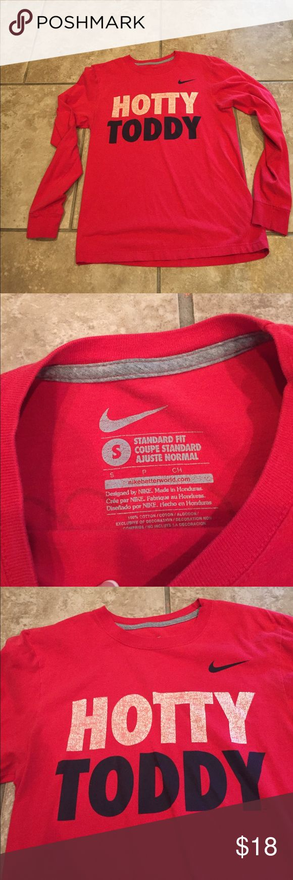 Nike Ole Miss Hotty Toddy tshirt SZ Small Good used condition Nike Tops Tees - Long Sleeve