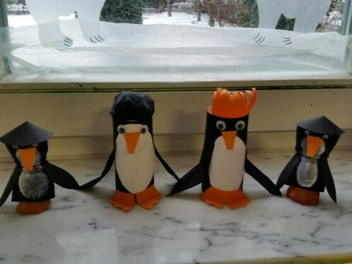 Pinguinparade Πιγκουίνοι στην σειρά Ιδιωτικός παιδικός σταθμός Μονάχου