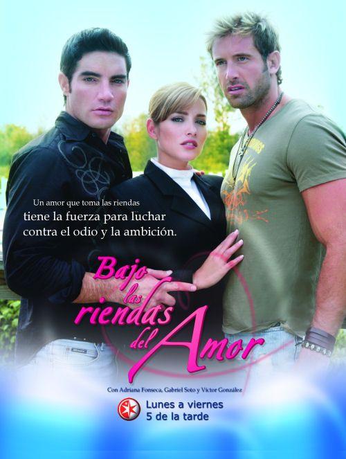 Book Cover Series Y Novelas ~ Bajo las riendas del amor usa adriana fonseca
