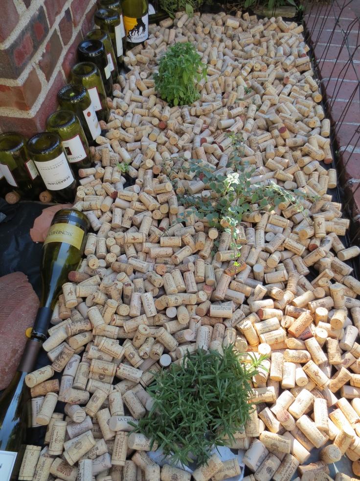 92 best corks corks and more corks images on pinterest for Garden design ideas cork