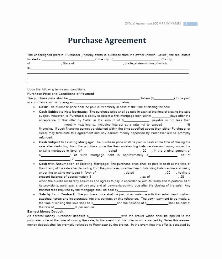 House Buying Contract Template Best Of 37 Simple Purchase Agreement Templates Real Estate Business Purchase Agreement Contract Template Purchase Contract