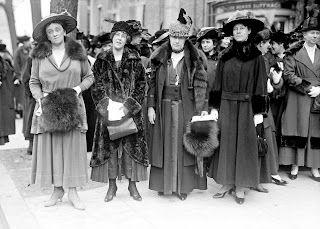 Harris & Ewing - Suffragettes