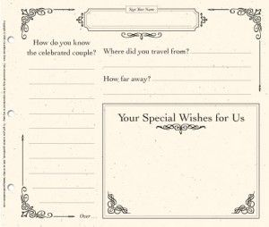 A guestbook alternative that's way more than just a blank page | Offbeat Bride