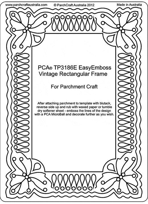 pca ražba pergamen Šablony tp3176e tp3200e pergamano patterns