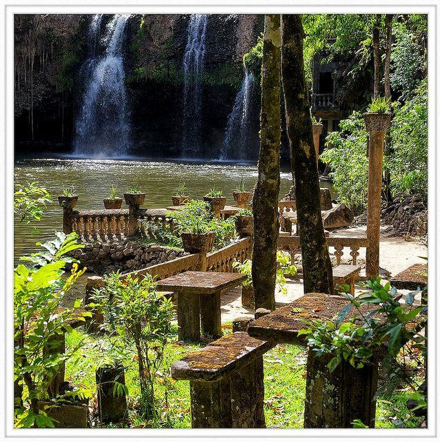 Paronella Park tea gardens - amazing