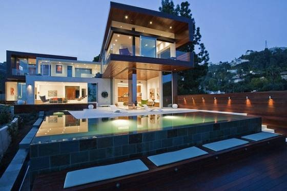 Designed by David Thompson and Kevin Southerland from Assembledge Architect.: Contemporary Home, Hollywood Hill, Dreams Houses, The Angel, Beautiful Home, Modern Houses, Modern Home, Houses Design, Glasses Houses