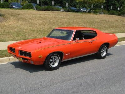 1969 Pontiac GTO Judge. I grew up in rural Idaho where every kid took auto shop. This was almost my first car and I've always carried a torch for this make and model.