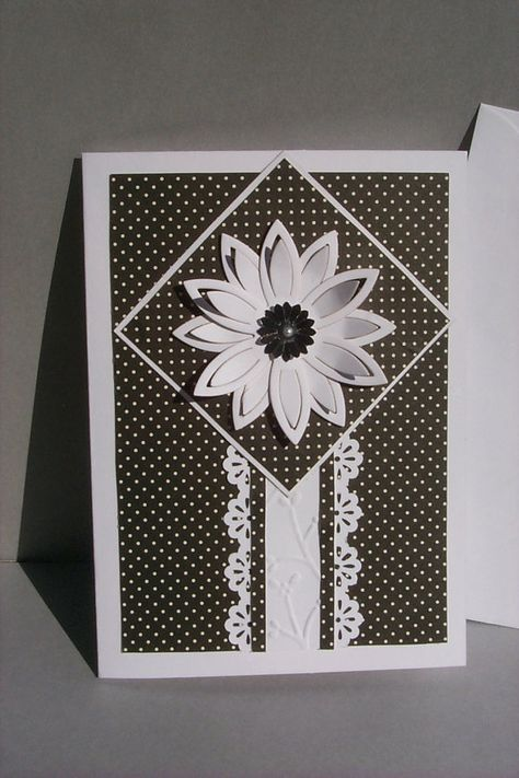 flowers black handmade cards 63 ideas  cards handmade
