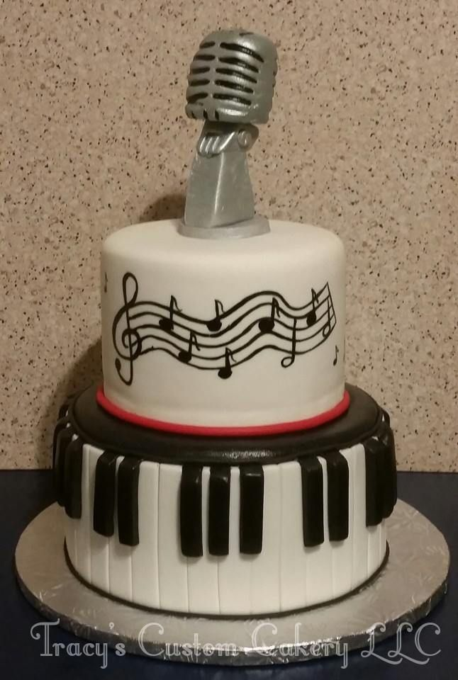 Cake Design For Singer : 1000+ images about Music Cakes on Pinterest Birthday ...