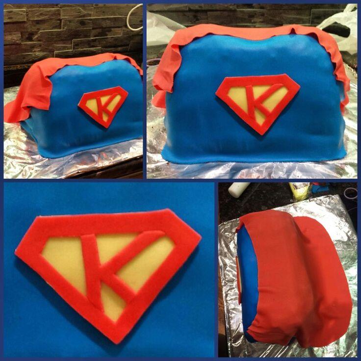 Superman cake for my niece Kian 4th B-day  #passion #love #cakeart #creativity #cake #baka #superman