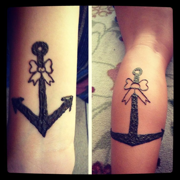 Anchors aweigh! Izzy and Juliana