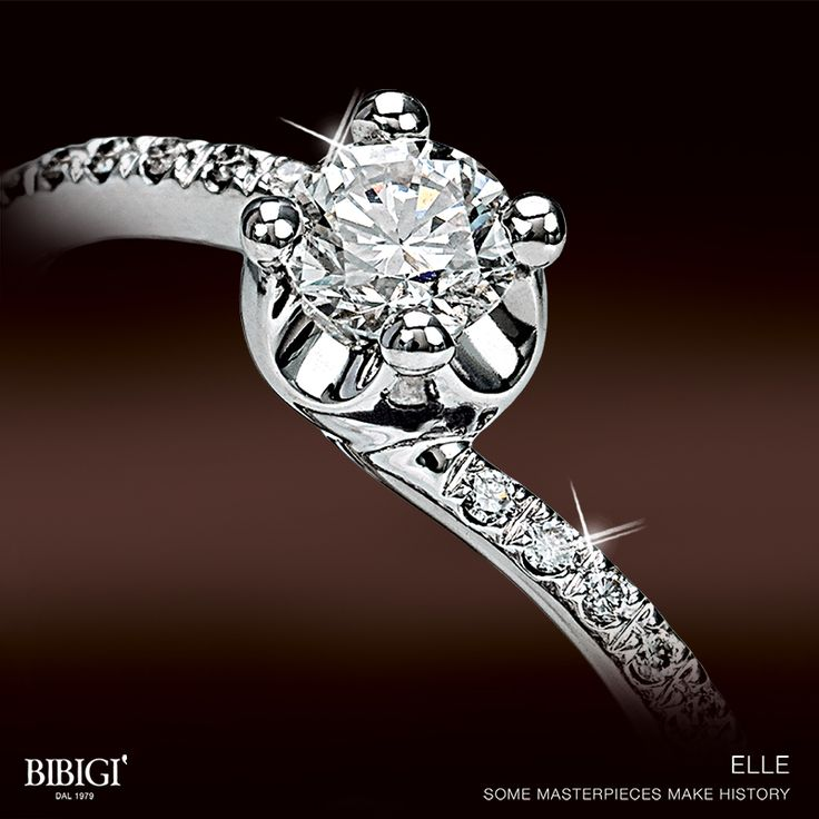 """""""Honey, would you merry me?"""" Some questions make history. Some solitaire ring make history. Say """"Yes"""" at the most beautiful question. Say """"Yes"""" to #Elle , the most beautiful engagement ring."""