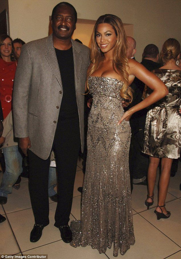 Happy news: Beyonce's father Mathew Knowles married Gena Charmaine Avery in Houston, Texas last Sunday