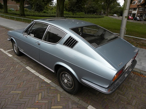 1974 Audi 100 Coupe S. such clean lines.