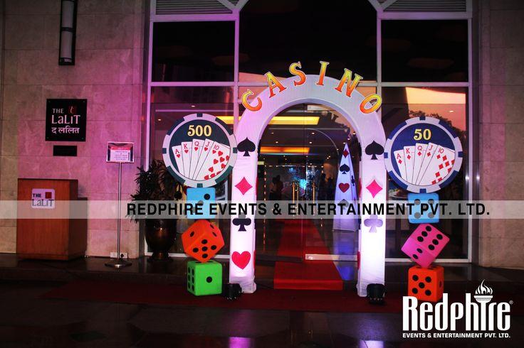 Main Entrance of Redphire Grand Casino Fun Nite