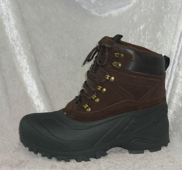 Thinsulate boots waterproof leather Ottawa winter brown men's size 10, 11 NEW  39.99 http://www.ebay.com/itm/Thinsulate-boots-waterproof-leather-Ottawa-winter-brown-mens-size-10-11-NEW-/330934170503?pt=US_Men_s_Shoes&var=&hash=item7dc58c4e81