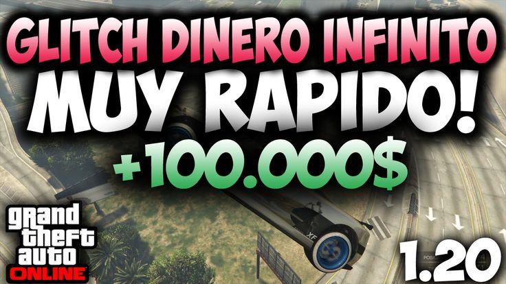 GTA 5 ONLINE 1.20 - GLITCH DINERO INFINITO MUY RAPIDO GLITCH DINERO INFI...