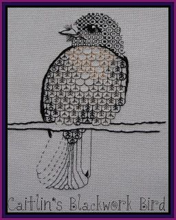 Notes from under the Mountain: BLACKWORK EMBROIDERY 1.