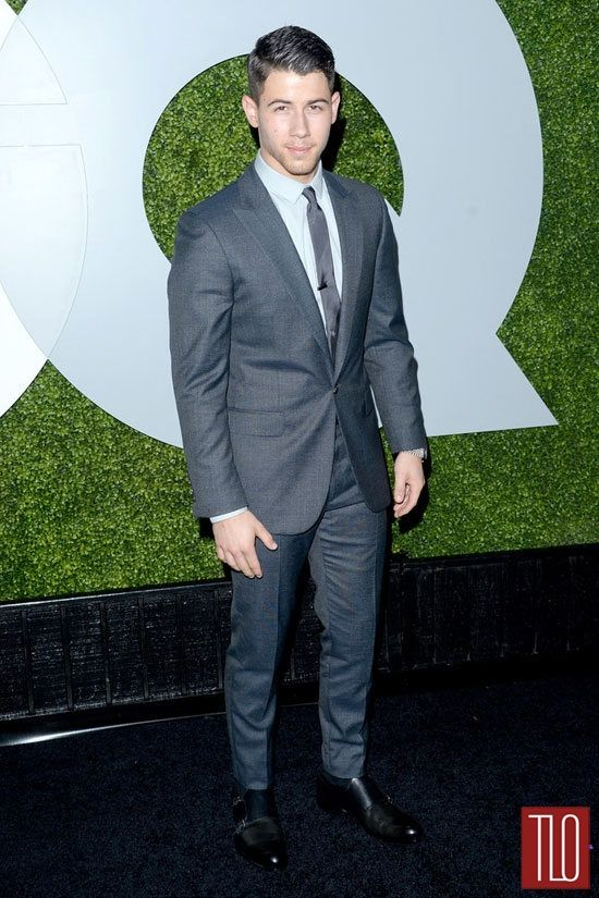 Nick Jonas in Calvin Klein Collection
