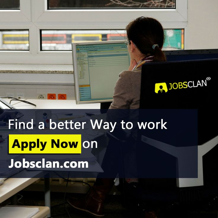 Find a better way to work Apply now Jobsclan Job posting