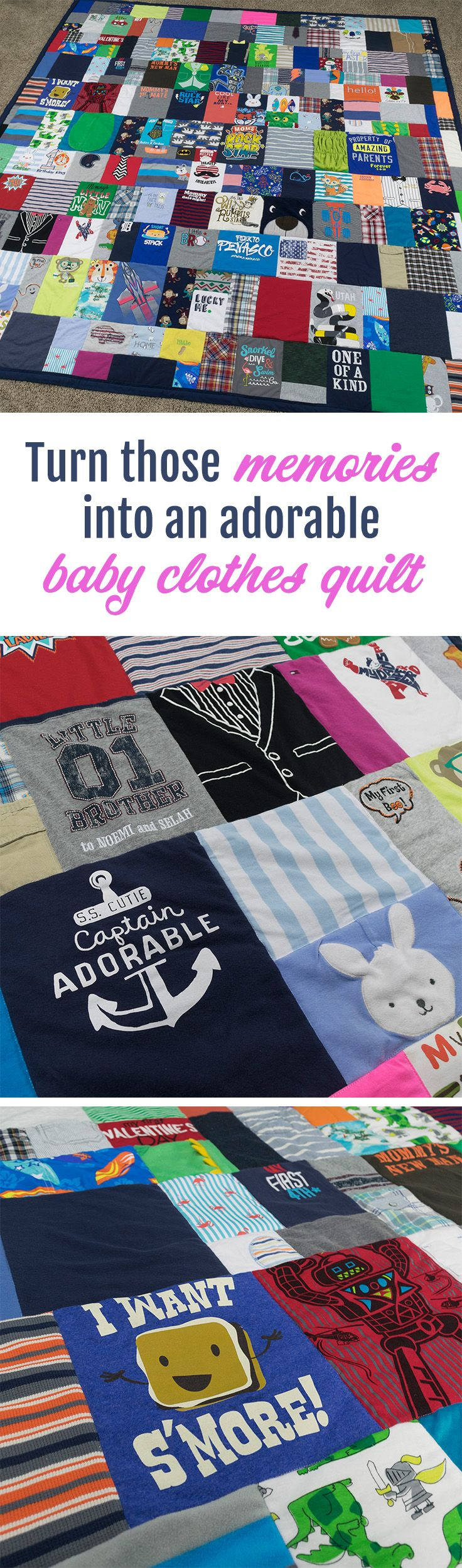 MUST DO with the little muchkin's clothes! This website makes the cutest baby clothes quilts, time to start going through those cute onesies! So glad I didn't sell them, lol.