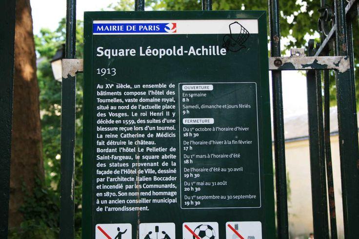 Square Léopold Achille