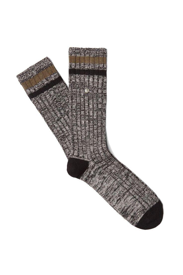 Sports Tipping Socks Grey Marl