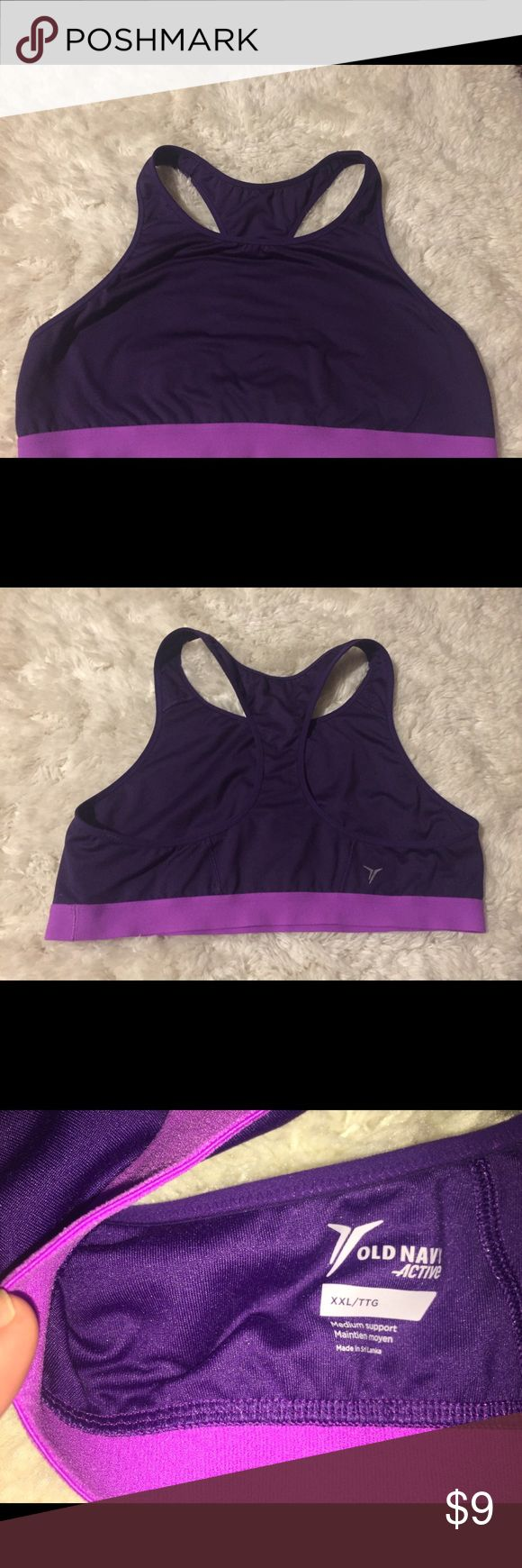 Old Navy Sports Bra Like new Old Navy Intimates & Sleepwear Bras