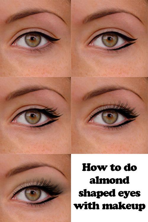 Maquillaje para almendrar los ojos