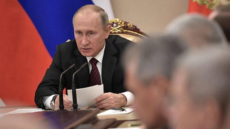 Putin says someone is collecting Russian bio material in a possible reference to the US Air Force bid to acquire RNA and synovial fluid samples