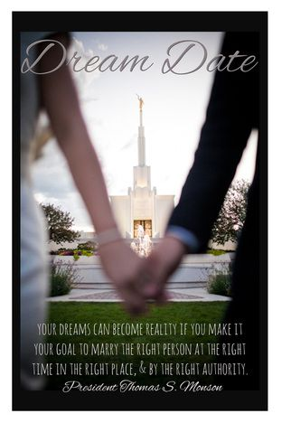 YW Lesson Ideas. Temple Marriage. Power point & Free printable