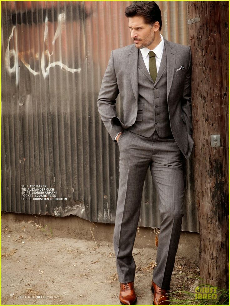 Celeb Diary: Joe Manganiello in revista Bello (ianuarie 2014)