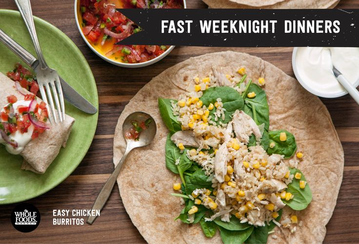 Short on time? These EIGHT RECIPES are simple and easy for a busy week night dinner!