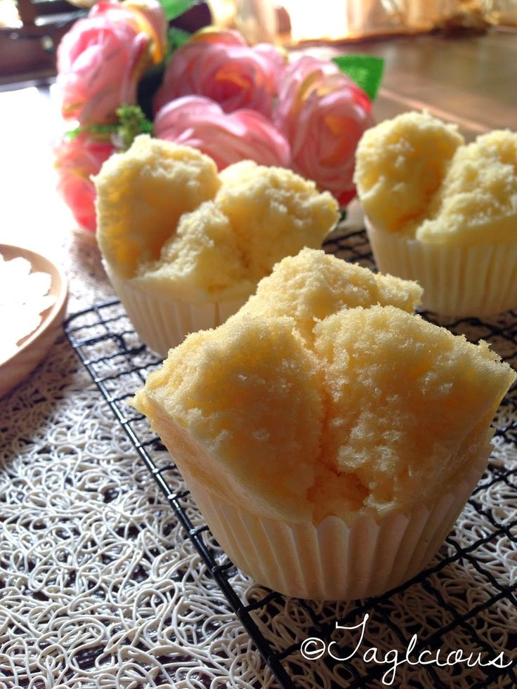 Steamed Orange Mini Cakes using Morinaga Pancake Mix // 1 packet (150g) Morinaga Pancake Mix, 150 ml orange juice, 1 tablespoon of sugar, Some lemon zest (Optional), for more citrus smell