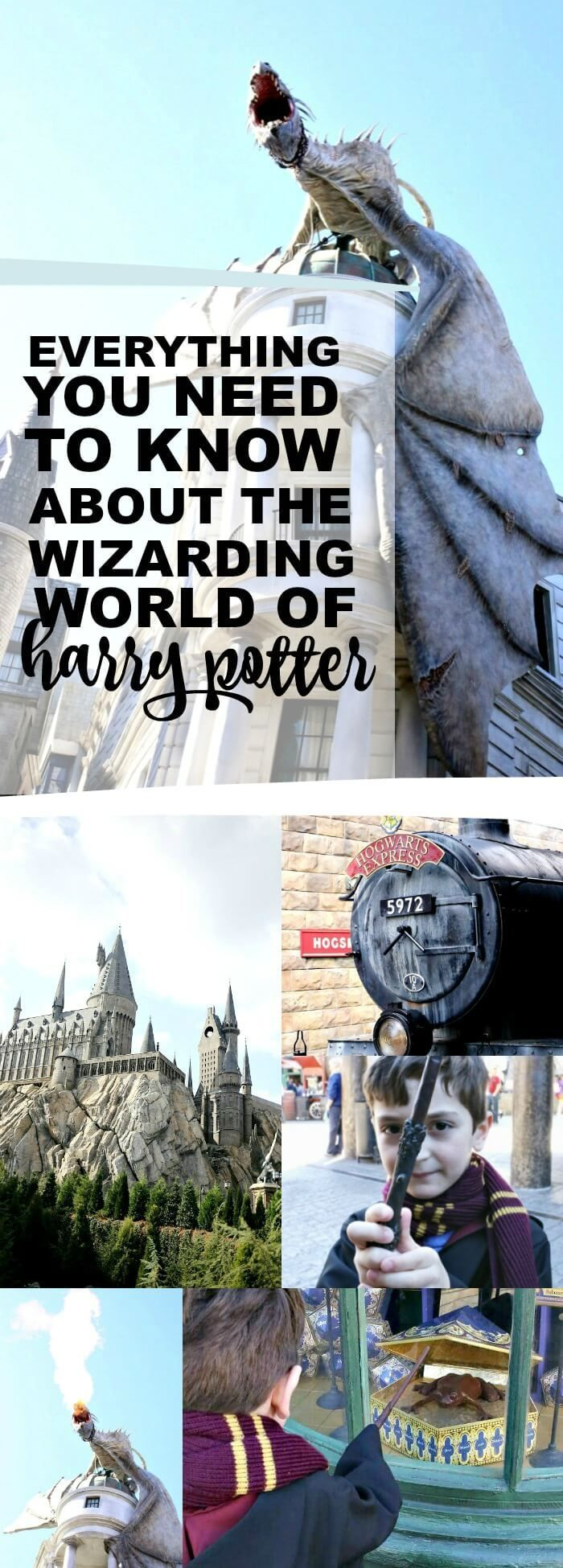 Everything you need to know about visiting the Wizarding World of Harry Potter at Universal Studios and Islands of Adventure via @spaceshipslb