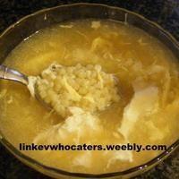 Mom's Pastina Egg drop soup