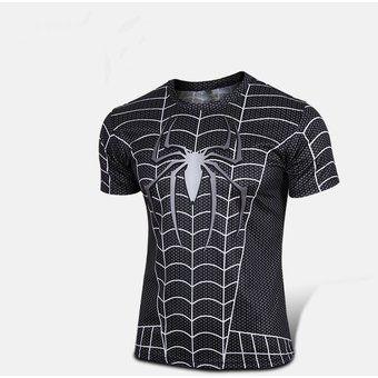 Spider-man El Hombre Araña Estilo Camiseta De Deporte Al Aire Libre