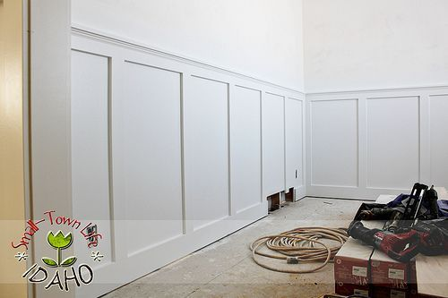 Inexpensive Board And Batten Wainscot How To Do It