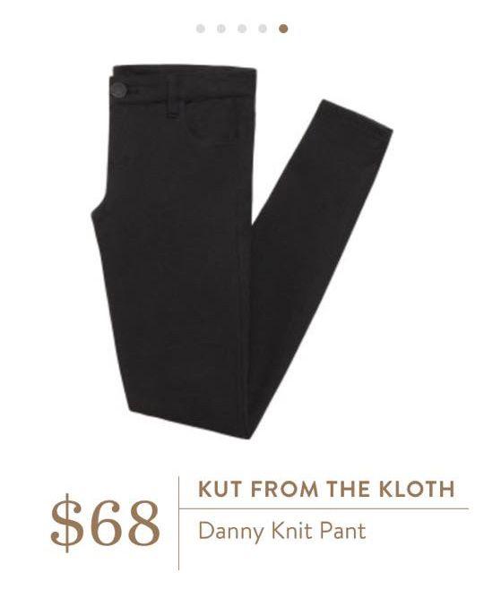 Stitch Fix: Kut from the Kloth Danny Knit Pant $68