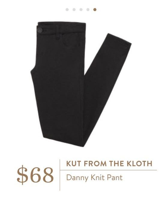 Stitch Fix: Kut from the Kloth Danny Knit Pant $68