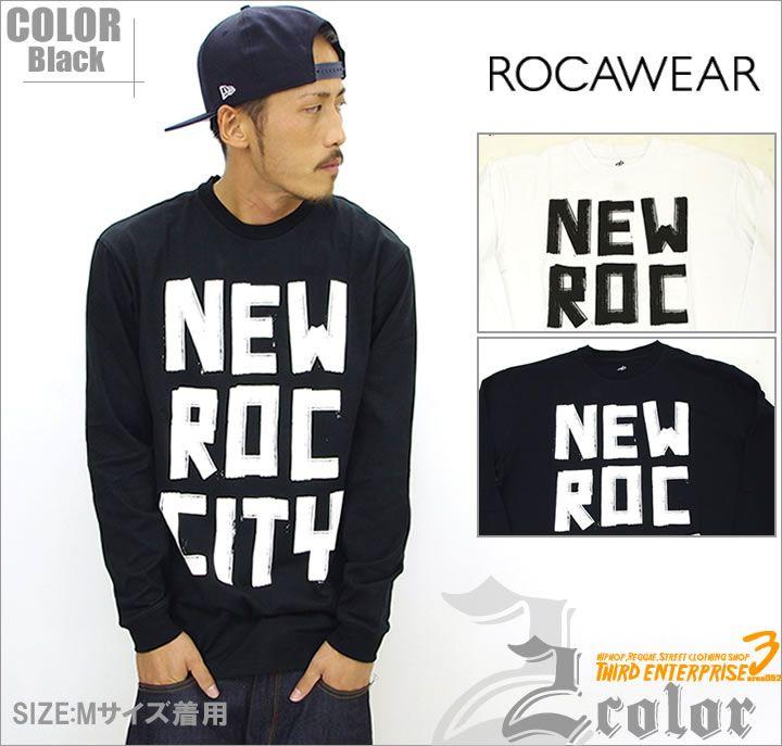 【楽天市場】ROCAWEAR 【ロカウェア】ロングTシャツ メンズ R0713T04LB系 ファッション メンズ ヒップホップ ストリート系 アメカジ HIPHOP 【あす楽】:HIP HOP CLOTHING SHOP Third