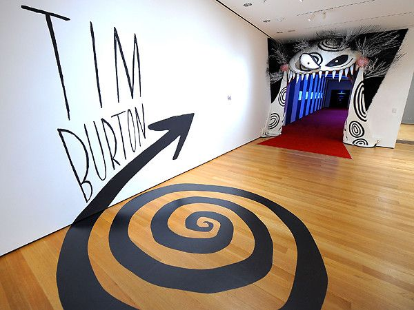 Tim Burton Exhibition?! I want to got there :O