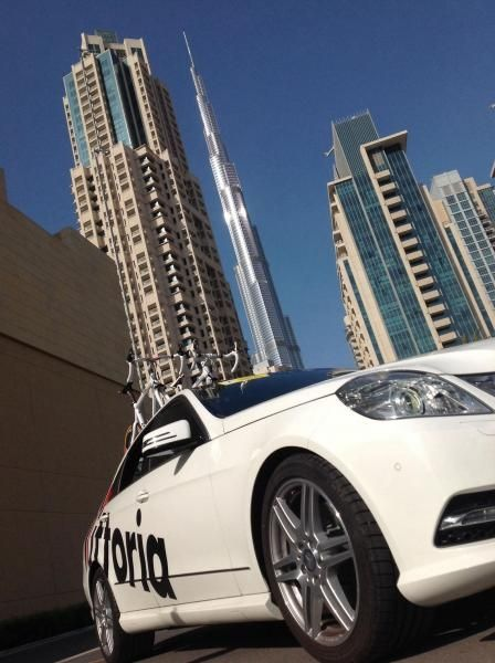 SC car at Dubai Tour 2014