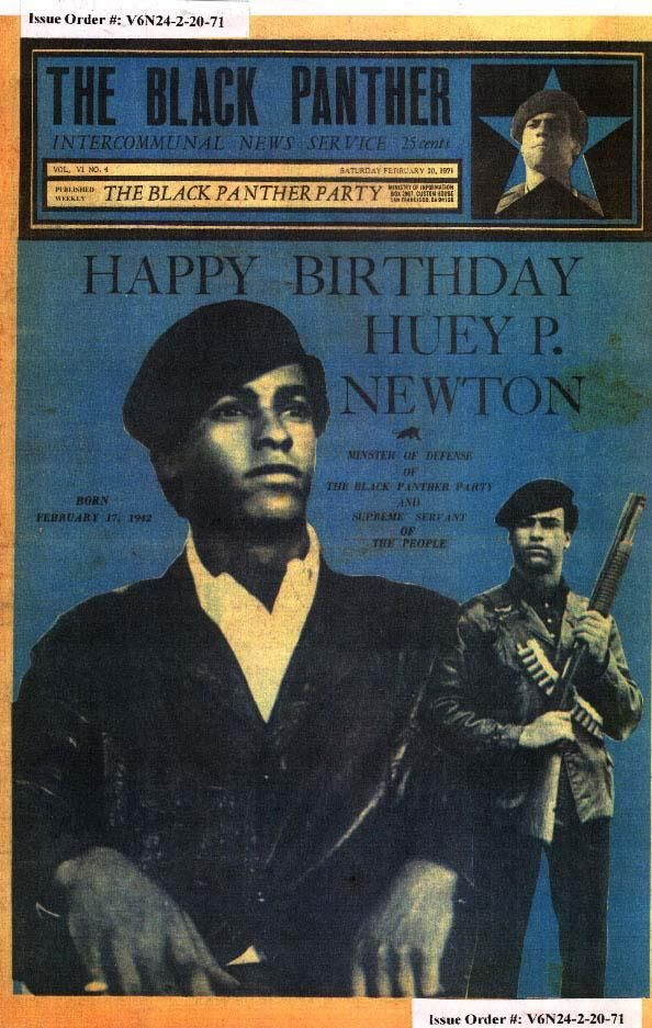 a focus on huey p newton and his role in the black panther party The ten-point program, or the black panther party for of the black panther party, huey p newton and newton shifted the focus of his political.