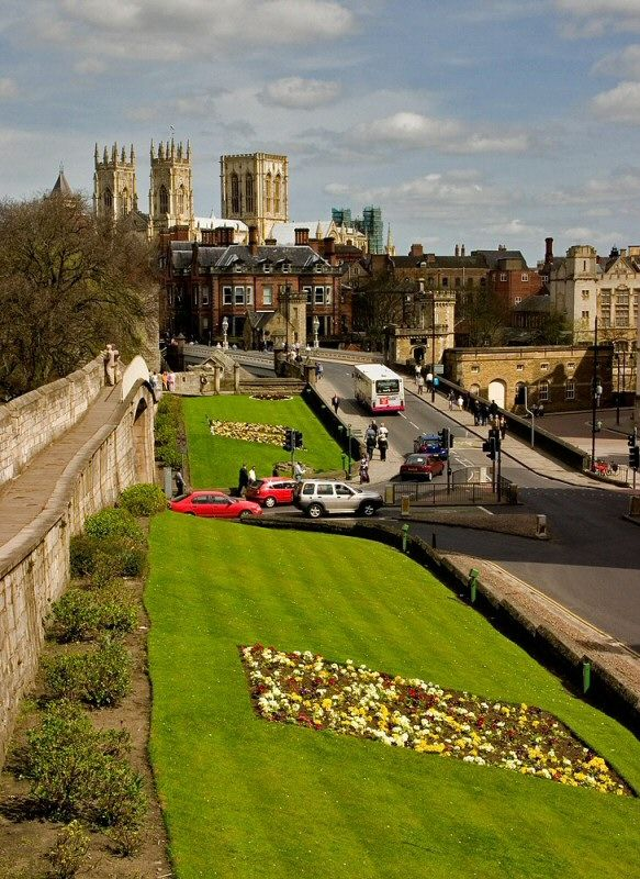 York On A Spring Day - York, England