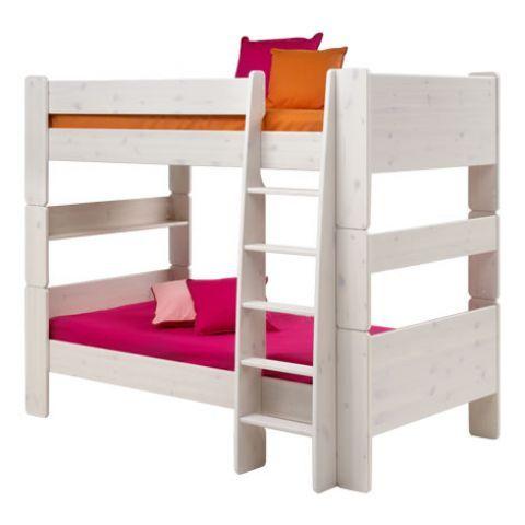 Steens Whitewash Bunk Bed Frame