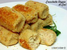 Le crocchette di ceci sono un'idea facilissima da preparare, molto gustosa e 100% vegetale. Questa è una ricetta base, potete aggiungere gli aromi