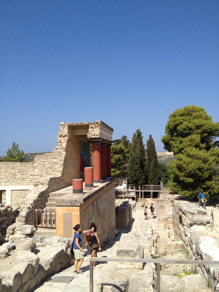 Cultural trip to Crete   Knossos   Sept 2012