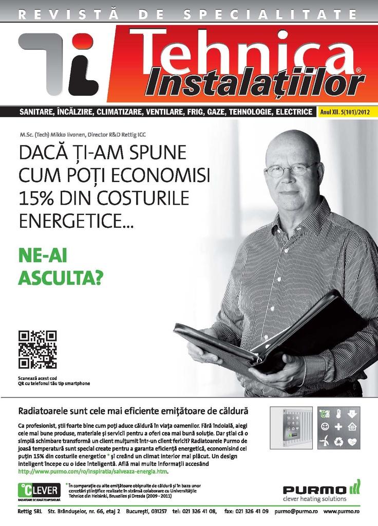 Revista Tehnica Instalatiilor nr. 05_101_2012