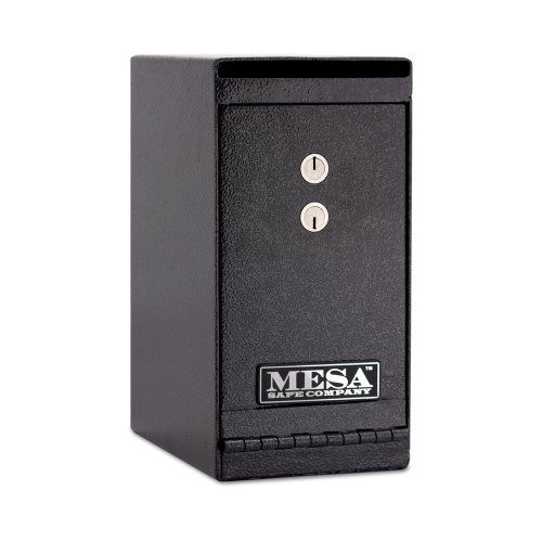 Mesa Safe Company Model MUC1K Undercounter Depository Safe with Dual Key Lock, Dark Gray - http://safescenter.com/mesa-safe-company-model-muc1k-undercounter-depository-safe-with-dual-key-lock-dark-gray/